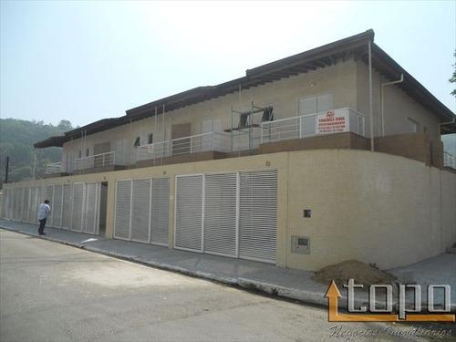 ref.: 2323 - casa em praia grande, no bairro canto do forte - 3 dormitórios