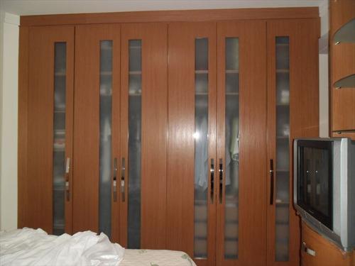 ref.: 232400 - apartamento em santos, no bairro gonzaga - 3 dormitórios