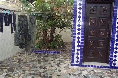 ref.: 2325 - casa em santos, no bairro boqueirao - 3 dormitórios