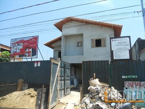 ref.: 2327 - casa condomínio fechado em praia grande, no bairro sitio do campo - 3 dormitórios