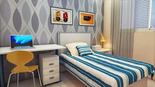 ref.: 2328 - apartamento em praia grande, no bairro balneario maracana - 2 dormitórios