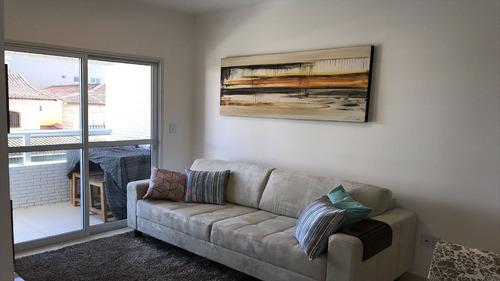 ref.: 2332 - apartamento em praia grande, no bairro vila guilhermina - 2 dormitórios