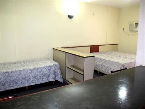 ref.: 233400 - apartamento em são vicente, no bairro centro - 1 dormitórios