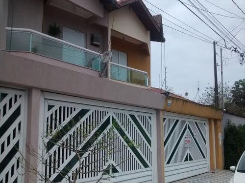 ref.: 2337 - casa em praia grande, no bairro canto do forte - 3 dormitórios