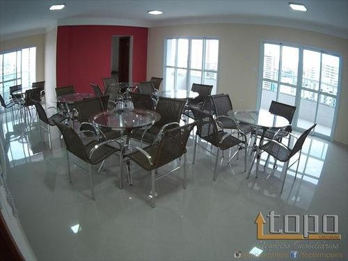 ref.: 2339 - apartamento em praia grande, no bairro boqueirao - 2 dormitórios