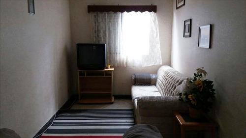 ref.: 2341 - apartamento em praia grande, no bairro vila guilhermina - 1 dormitórios