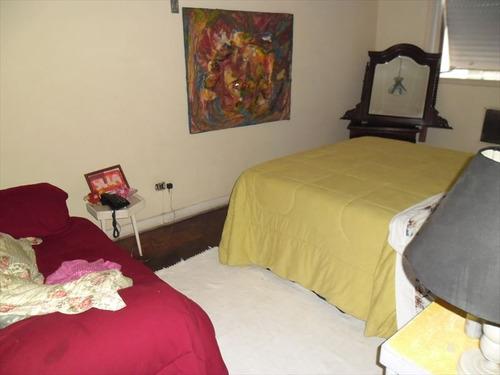 ref.: 234601 - apartamento em santos, no bairro gonzaga - 3 dormitórios