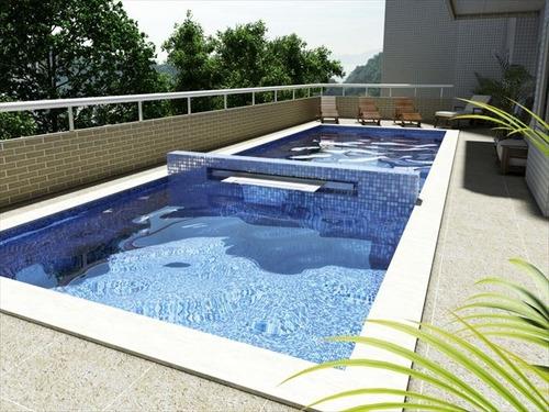 ref.: 2347 - apartamento em praia grande, no bairro aviacao - 2 dormitórios