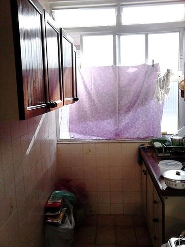 ref.: 2348 - apartamento em praia grande, no bairro boqueirao - 1 dormitórios