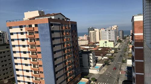 ref.: 2349 - apartamento em praia grande, no bairro vila tupi - 1 dormitórios