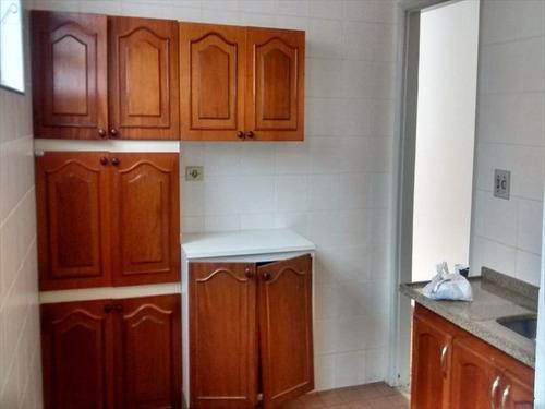ref.: 2351 - casa condomínio fechado em praia grande, no bairro canto do forte - 2 dormitórios