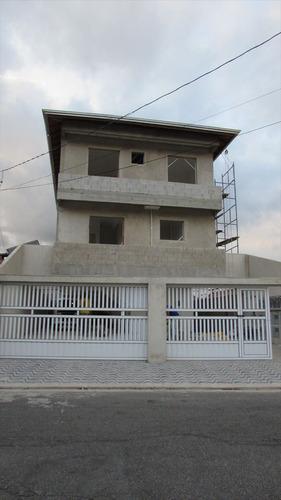 ref.: 236 - casa em praia grande, no bairro aviacao - 2 dormitórios