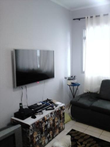 ref.: 2363 - apartamento em praia grande, no bairro boqueirao - 1 dormitórios