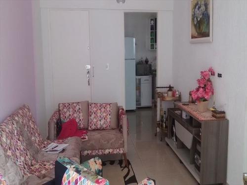 ref.: 2371 - apartamento em praia grande, no bairro guilhermina - 2 dormitórios