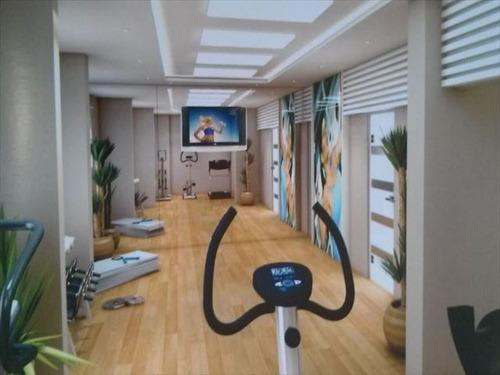 ref.: 2378 - apartamento em praia grande, no bairro aviacao - 3 dormitórios