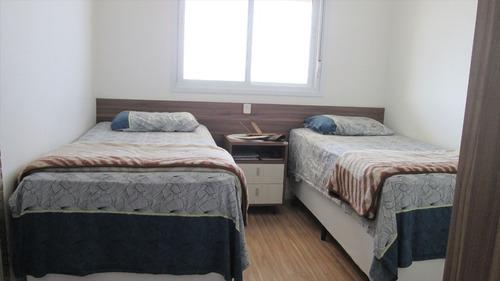 ref.: 238 - apartamento em itanhaém, no bairro centro - 2 dormitórios