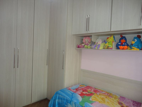 ref.: 238501 - casa em santos, no bairro boqueirao - 3 dormitórios