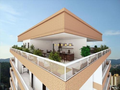 ref.: 2386 - apartamento em praia grande, no bairro caicara - 2 dormitórios