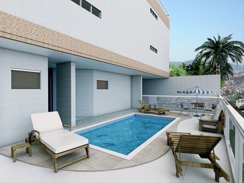 ref.: 2387 - apartamento em praia grande, no bairro caicara - 2 dormitórios