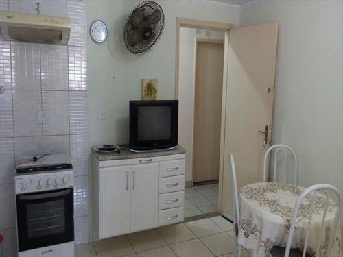 ref.: 2387 - apartamento em praia grande, no bairro guilhermina - 1 dormitórios
