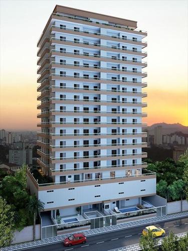 ref.: 2388 - apartamento em praia grande, no bairro caicara - 2 dormitórios