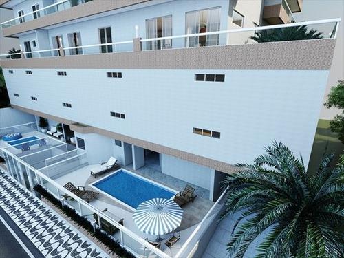 ref.: 2390 - apartamento em praia grande, no bairro caicara - 2 dormitórios