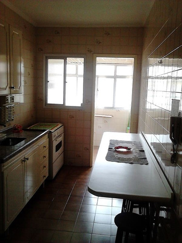 ref.: 2394 - apartamento em praia grande, no bairro boqueirao - 2 dormitórios