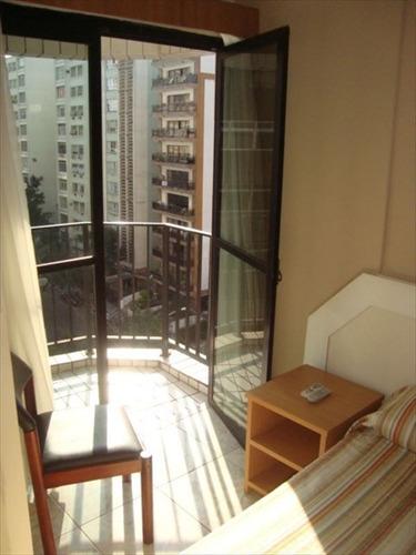 ref.: 239401 - apartamento em santos, no bairro gonzaga - 1 dormitórios