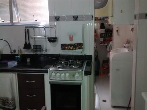 ref.: 2396 - apartamento em praia grande, no bairro guilhermina - 2 dormitórios