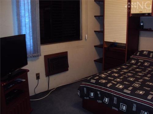 ref.: 240400 - apartamento em santos, no bairro ponta da praia - 1 dormitórios
