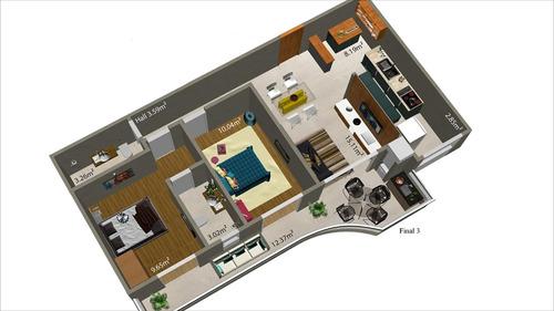 ref.: 24065500 - apartamento em praia grande, no bairro cant