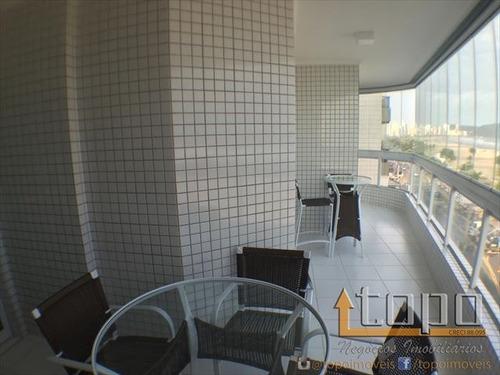 ref.: 2410 - apartamento em praia grande, no bairro guilhermina - 3 dormitórios