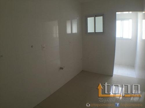 ref.: 2412 - apartamento em praia grande, no bairro guilhermina - 2 dormitórios