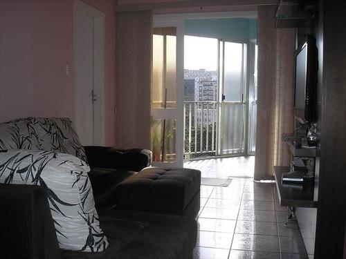 ref.: 241201 - apartamento em santos, no bairro aparecida - 3 dormitórios