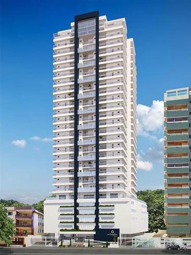 ref.: 2417 - apartamento em praia grande, no bairro canto do forte - 3 dormitórios