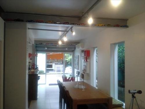 ref.: 241701 - casa em santos, no bairro vila belmiro - 3 dormitórios