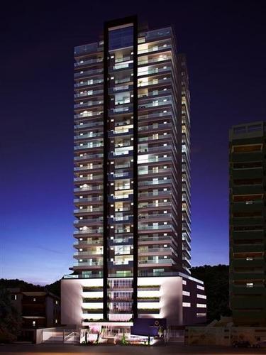 ref.: 2418 - apartamento em praia grande, no bairro canto do forte - 4 dormitórios