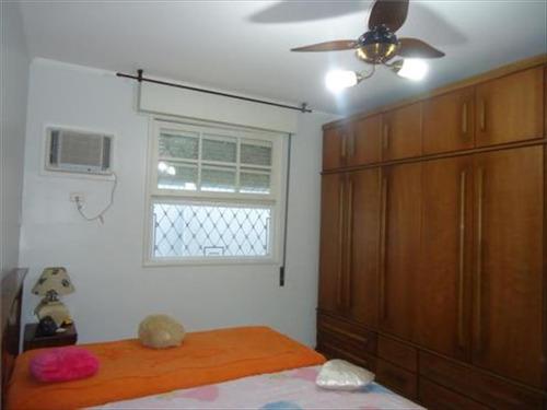 ref.: 241901 - casa em santos, no bairro campo grande - 3 dormitórios