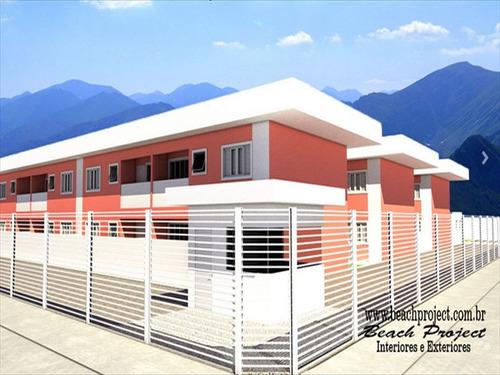 ref.: 242 - casa em bertioga, no bairro boraceia - 2 dormitórios