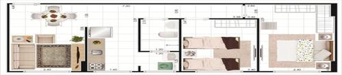 ref.: 2420 - apartamento em praia grande, no bairro ocian - 2 dormitórios