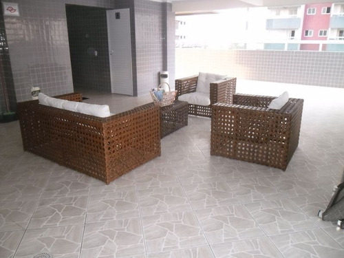 ref.: 2424 - apartamento em praia grande, no bairro ocian - 3 dormitórios