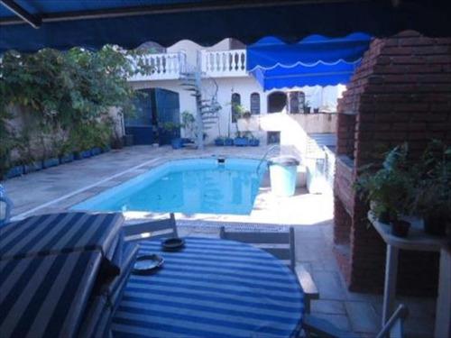 ref.: 242501 - casa em santos, no bairro boqueirao - 3 dormitórios