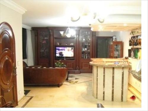 ref.: 242601 - casa em santos, no bairro ponta da praia - 3 dormitórios