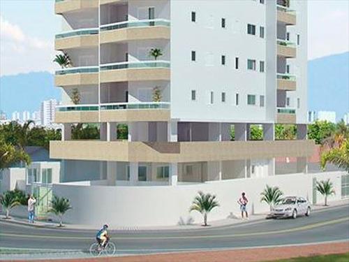 ref.: 2429 - apartamento em praia grande, no bairro solemar - 2 dormitórios