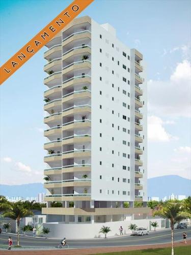 ref.: 2430 - apartamento em praia grande, no bairro solemar - 2 dormitórios