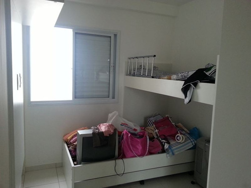 ref.: 2438 - apartamento em praia grande, no bairro mirim - 2 dormitórios