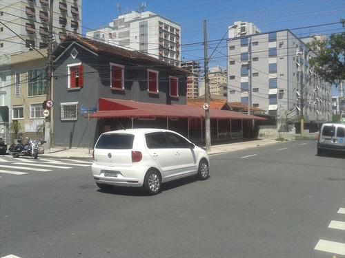 ref.: 243900 - casa em santos, no bairro embare - 3 dormitórios