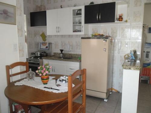 ref.: 2442 - apartamento em praia grande, no bairro mirim - 1 dormitórios