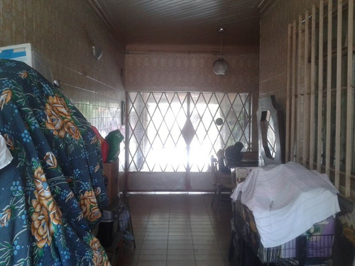 ref.: 244501 - casa em santos, no bairro vila matias - 3 dormitórios