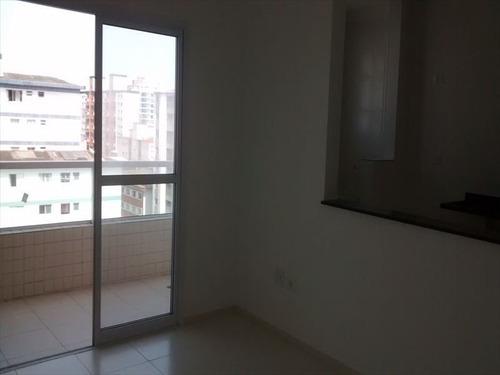 ref.: 2447 - apartamento em praia grande, no bairro boqueirao - 2 dormitórios